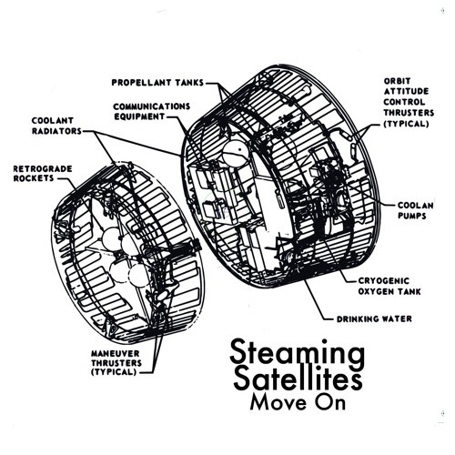 Cover - Steaming Satellites - Move On